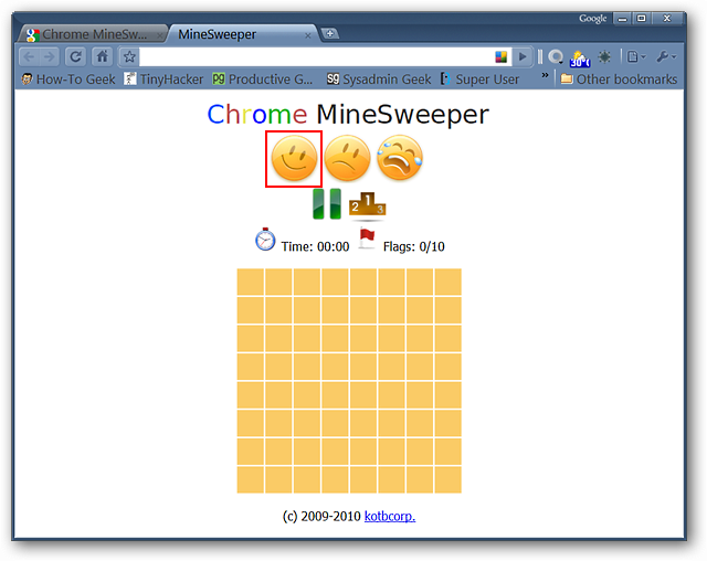 Friday Fun: Play MineSweeper in Google Chrome - Tips general