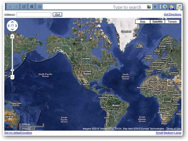 View Maps and Get Directions in Google Chrome Google Chrome Maps on