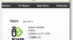 Use your iPhone or iPod Touch as a Boxee Remote