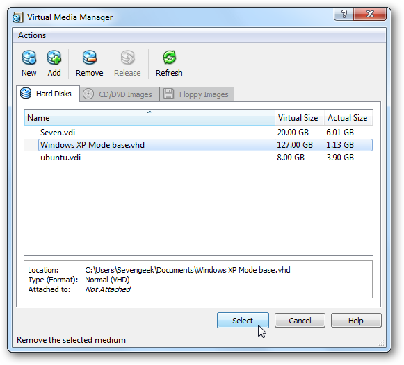 How To Run XP Mode in VirtualBox on Windows 7 (sort of)