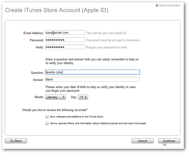 App Store Payment Method Declined Free Apps