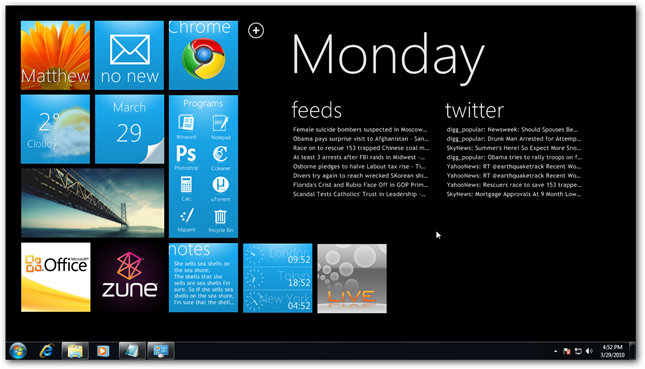 Make Your Pc Look Like Windows Phone 7