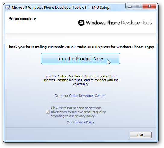Try out Windows Phone 7 on your PC today