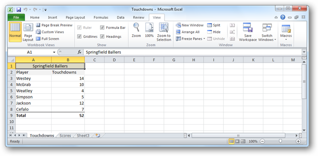 Hide and Unhide Worksheets and Workbooks in Excel 2007 & 2010