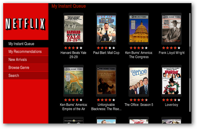 Watch Netflix Instant Movies in Boxee