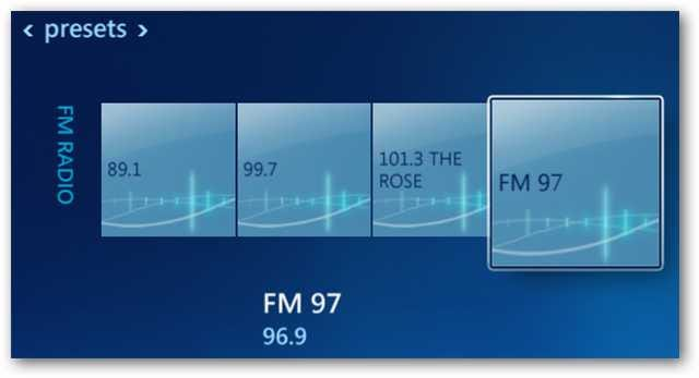 Listen to local fm radio in windows 7 media center tips general news.
