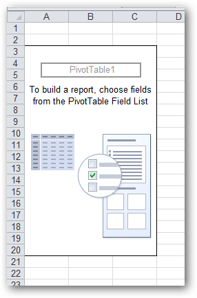 PivotTable Area