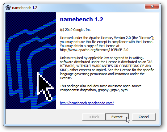 Find a Faster DNS Server with Namebench