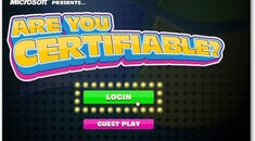"""Play the Microsoft Game """"Are You Certifiable?"""""""