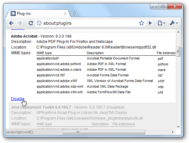 how to find google chrome plugins