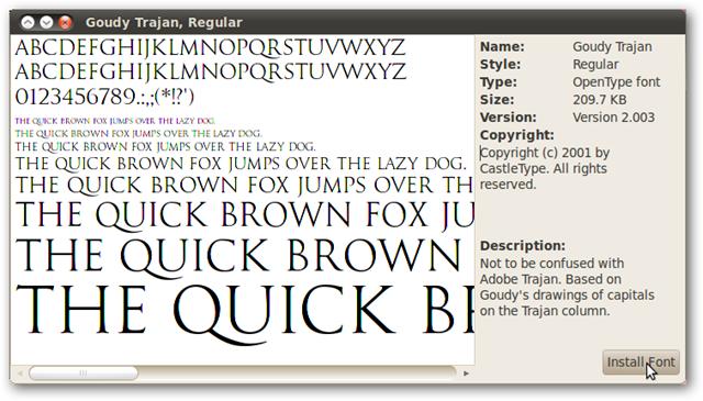 Add Microsoft Core Fonts to Ubuntu