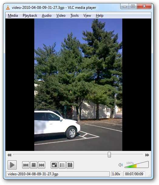 Taking video on iphone when viewing on windows media player 12 rotate and convert the video with windows live movie maker ccuart Images