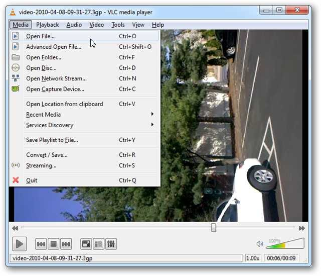 Taking video on iphone when viewing on windows media player 12 image ccuart Images