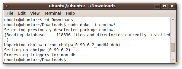 Change or Reset Windows Password from a Ubuntu Live CD