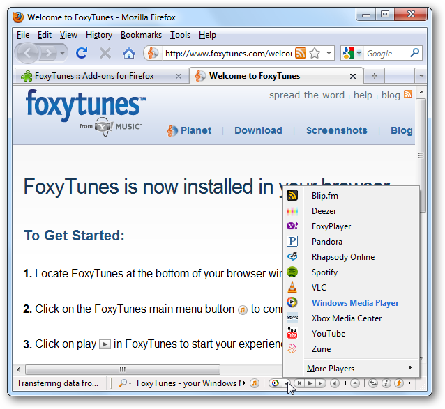 control download speed firefox