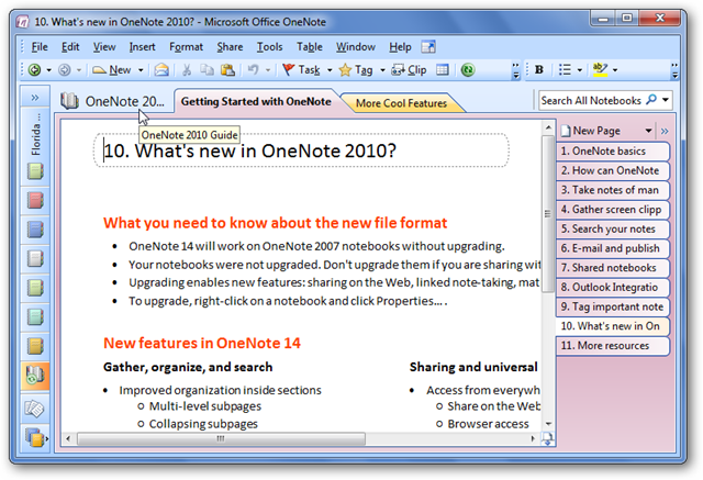 Migrating to onenote 2010 from onenote 2007 | microsoft.