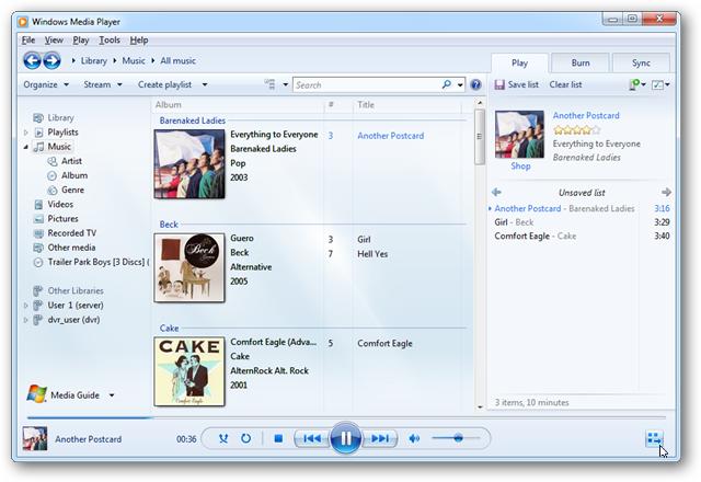 mini lyric windows 7