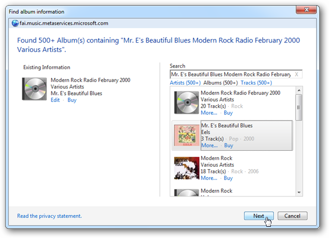 Windows media player not updating album info advice on dating a widower