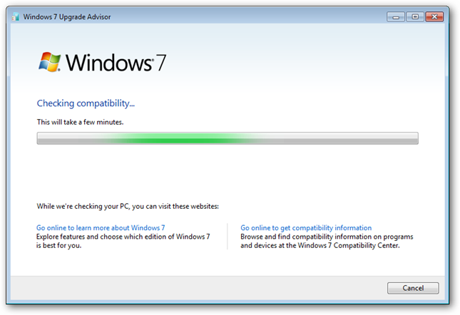 how to windows 7 professional upgrade