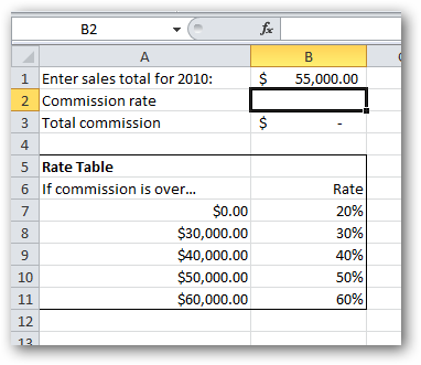 VLOOKUP in Excel, part 2: Using VLOOKUP without a database
