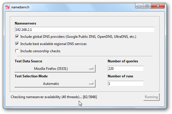 how to get a private dns server