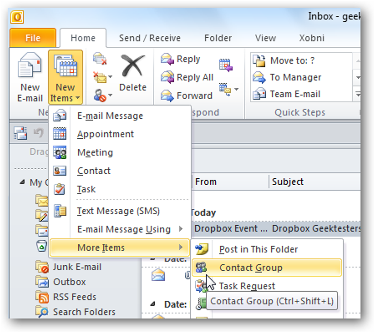 How to Create and Manage Contact Groups in Outlook 10