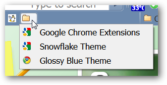 how to move folders in bookmark page of chrome