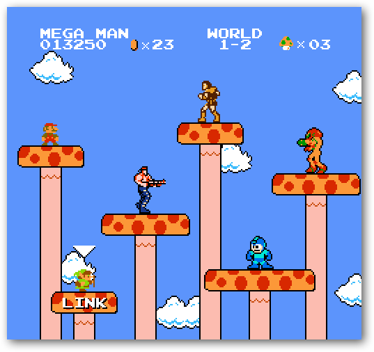 Friday Fun: Super Mario Bros  Crossover - Tips general news