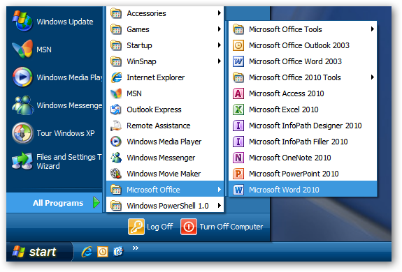 upgrade office 2003 to 2010 on xp or run them side by side tips