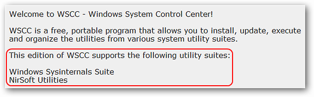 Control Sysinternals Suite & NirSoft Utilities with a Single