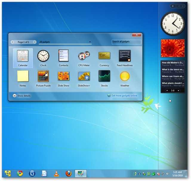 add the vista style sidebar back to windows 7