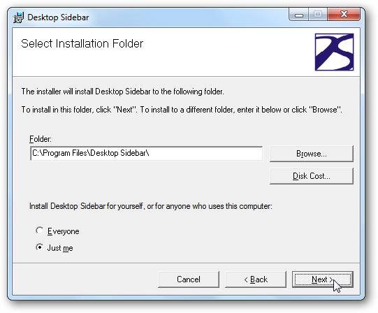 9desktop Sidebar