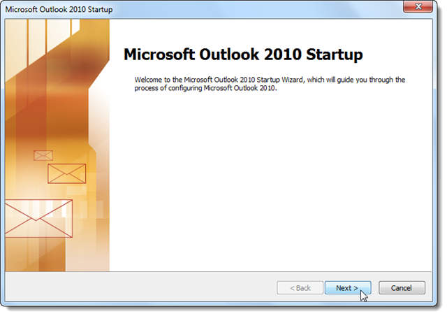 Add Hotmail & Live Email Accounts to Outlook 2010