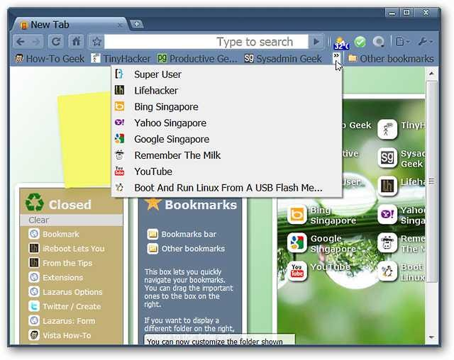 roomy bookmarks toolbar similar