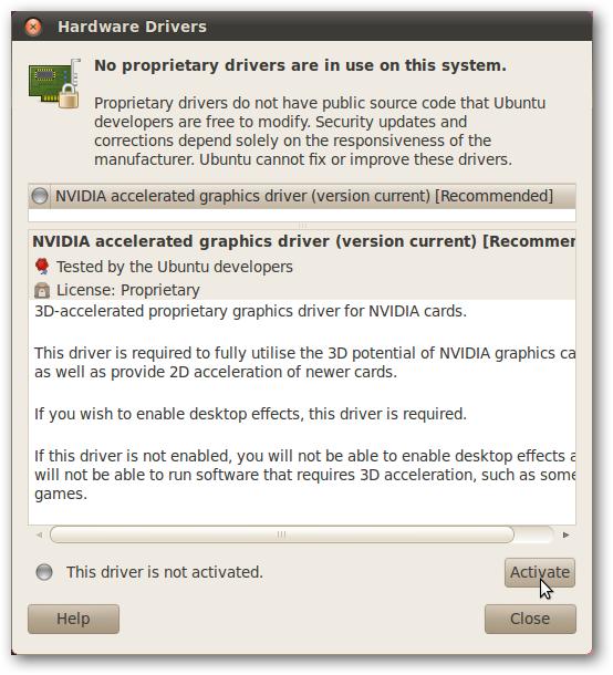 How to Add Proprietary Drivers to Ubuntu 10 04