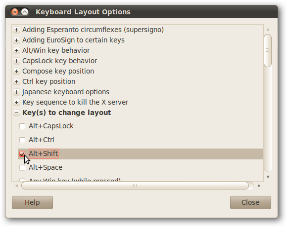Add Keyboard Input Language to Ubuntu