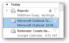 how to see the message header in outlook 2010
