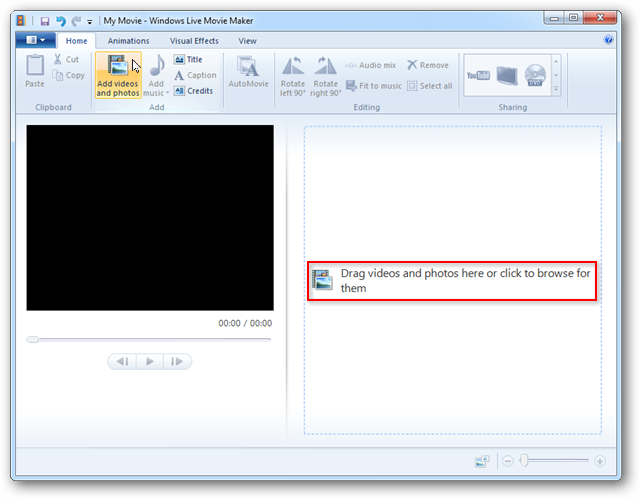 Edit Media Center TV Recordings with Windows Live Movie Maker