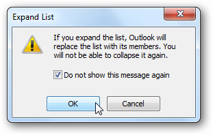 how to add members to a group in outlook 2010