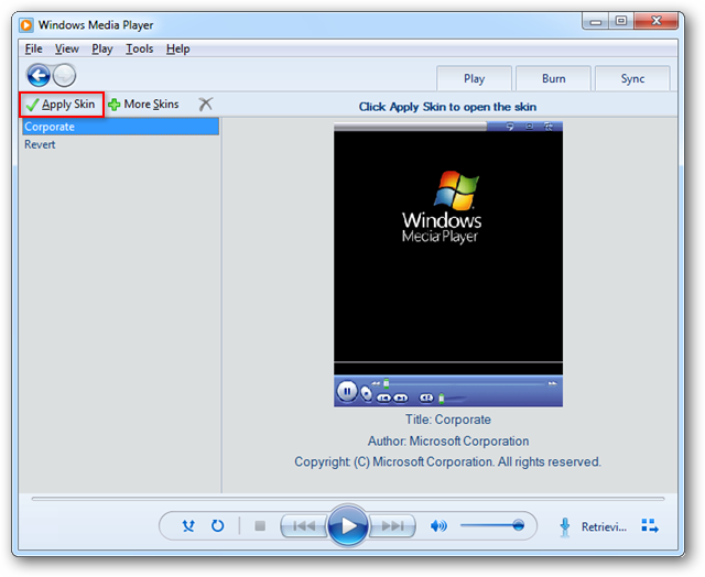 Apply Skins to Add Some Flair to Windows Media Player 12