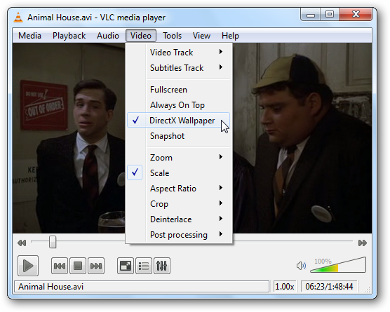 Set A Video As Your Desktop Wallpaper With Vlc