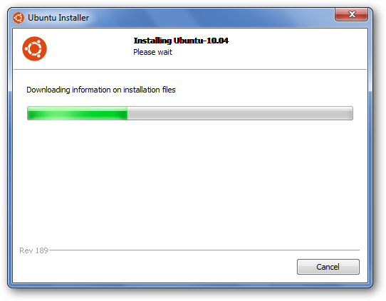 Install Ubuntu Netbook Edition with Wubi Installer