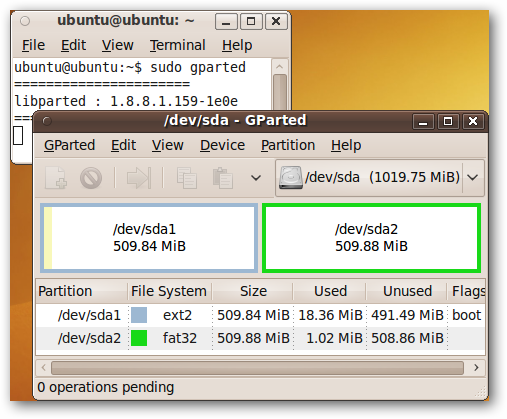 How to Format a USB Drive in Ubuntu Using GParted