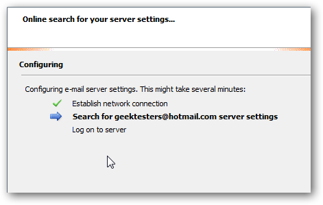 Hotmail.co.uk email server settings