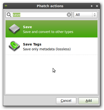 001_Phatch actions
