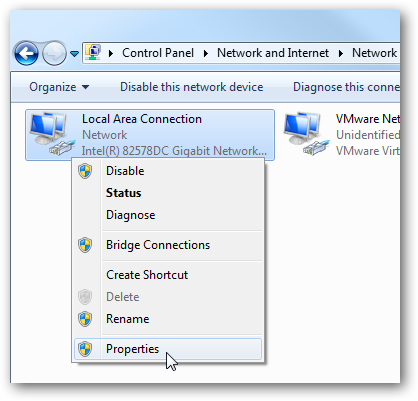 3local area connection