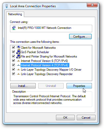 How to assign a static ip address in windows 7 8 10 xp for Window location assign