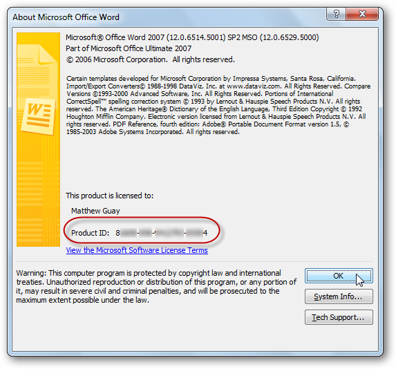 How To Activate Your Free Office 2007 to 2010 Tech Guarantee Upgrade