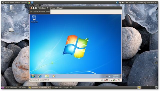 Windows Virtuele Machine in Linux
