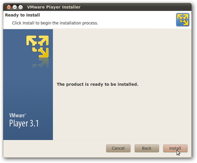 Run Windows in Ubuntu with VMware Player